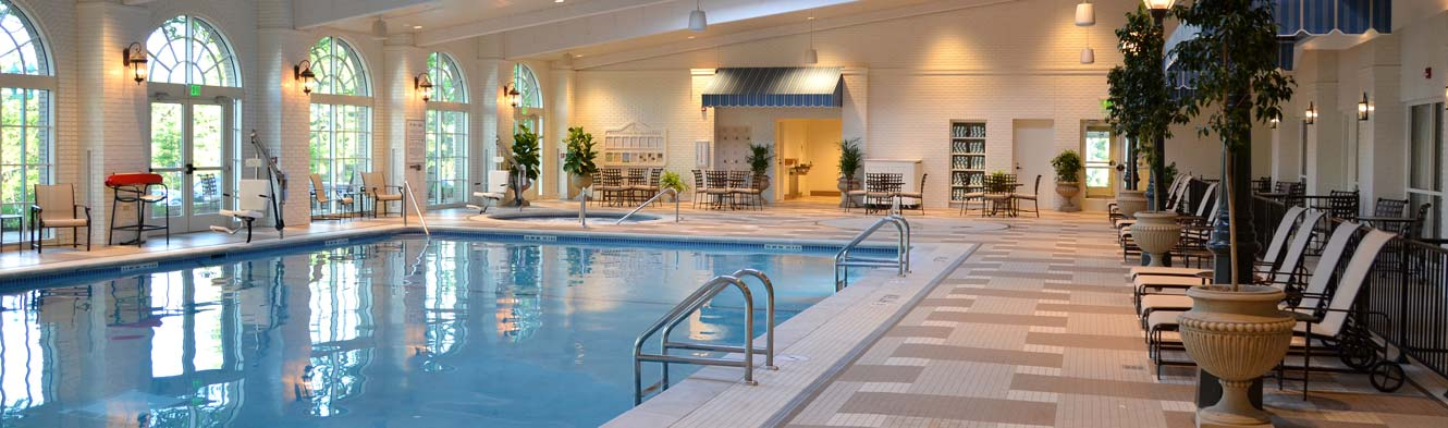 Facilities & Pools at The Spa At The Hotel Hershey